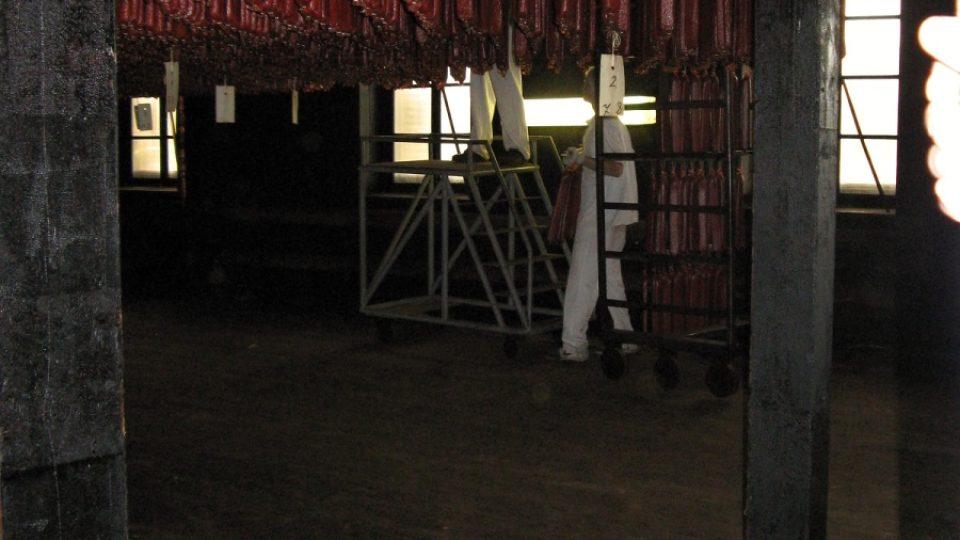 Sušárna salámů