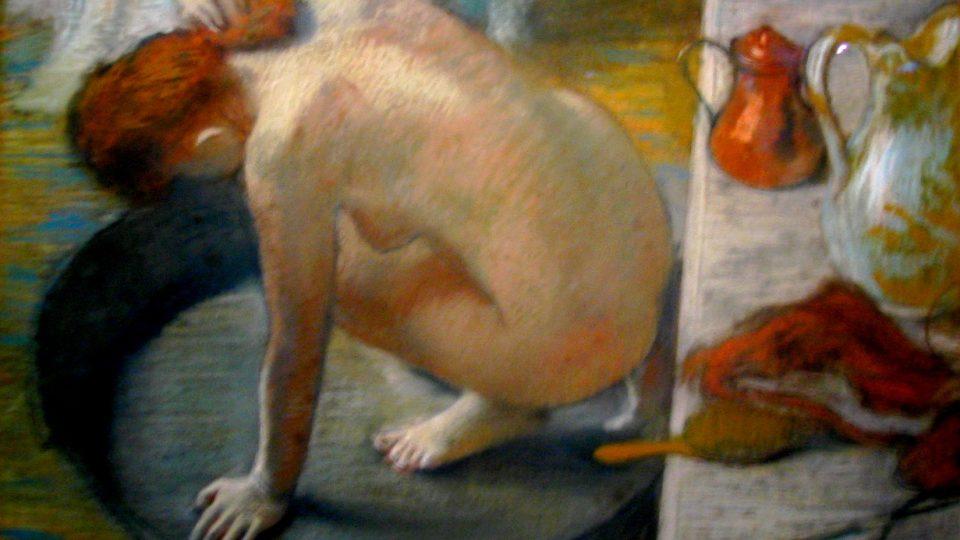 Edgar Degas: Koupel
