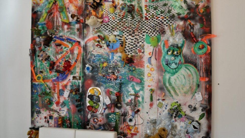 Interaktivní obraz Shaloma Neumana v Galerii umění pro děti