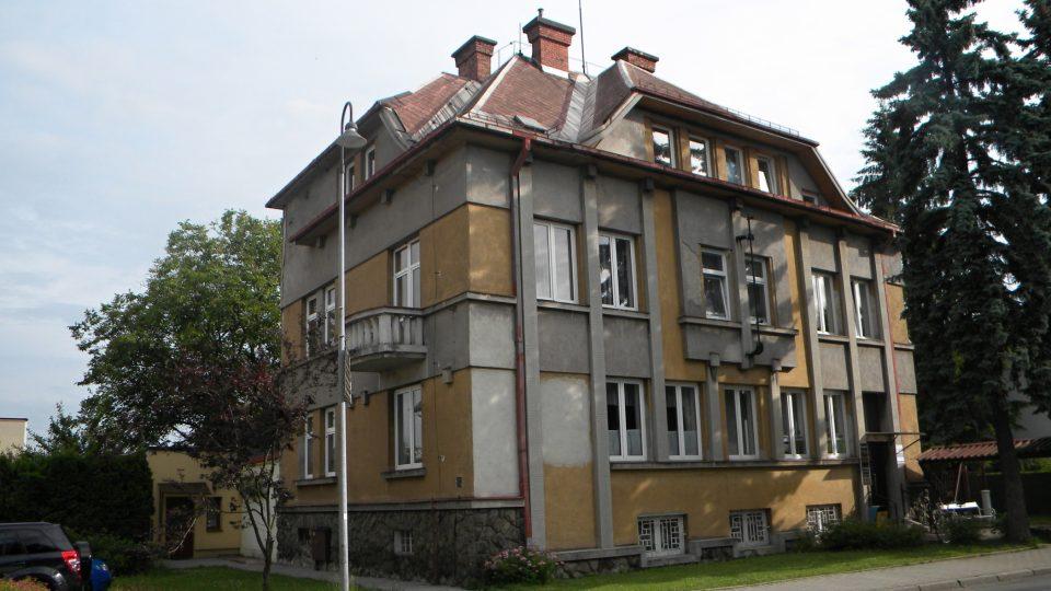 Dům č. p. 500 v Bystřici na Frýdecko-Místecku