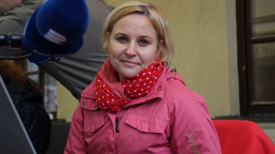 Vysíláme živě z Chotěboře, moderátorka Tamara Pecková