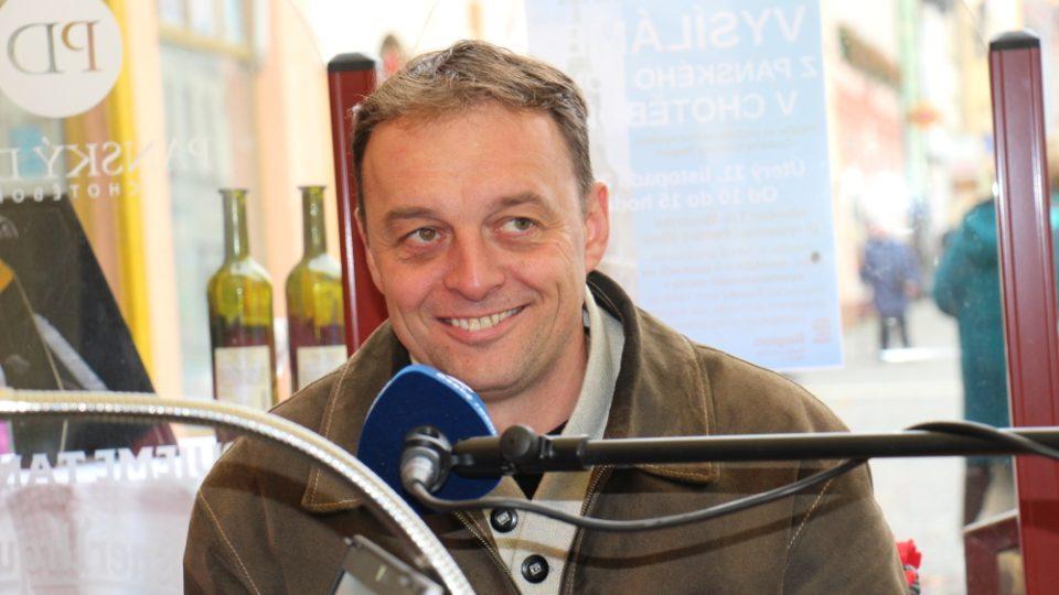 Vysíláme živě z Chotěboře, starosta Tomáš Škaryd