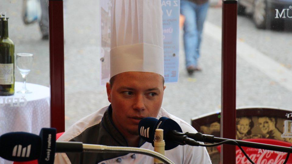 11. listopadu 2014 vysíláme živě z Chotěboře. Šéfkuchař Václav Bauch