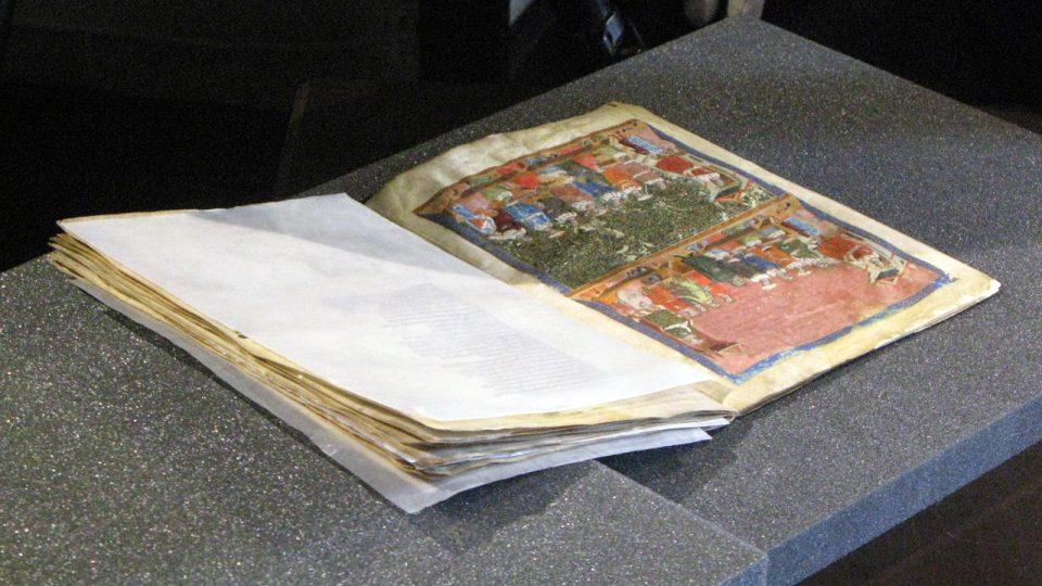 Tzv. Pařížské zlomky Dalimilovy kroniky