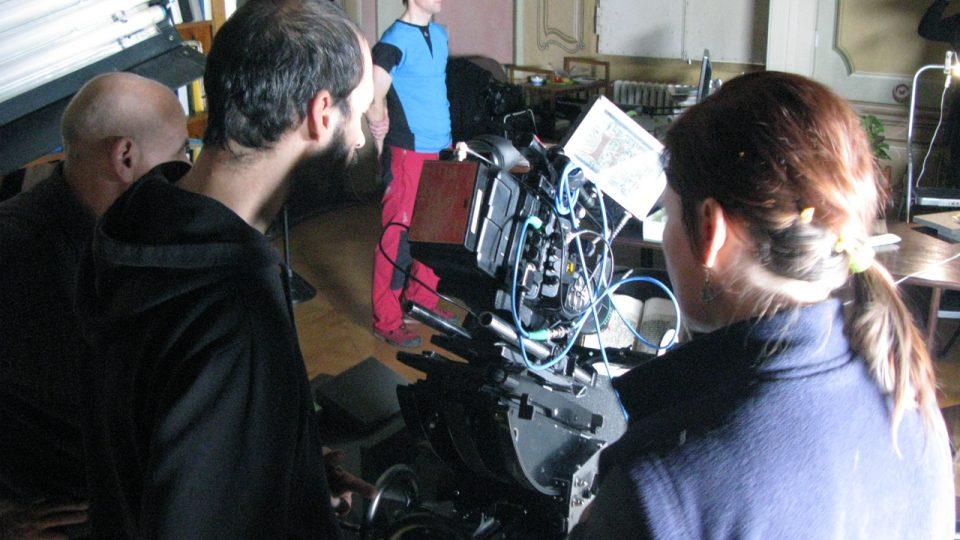 Z natáčení dokumentu o Dalimilově kronice