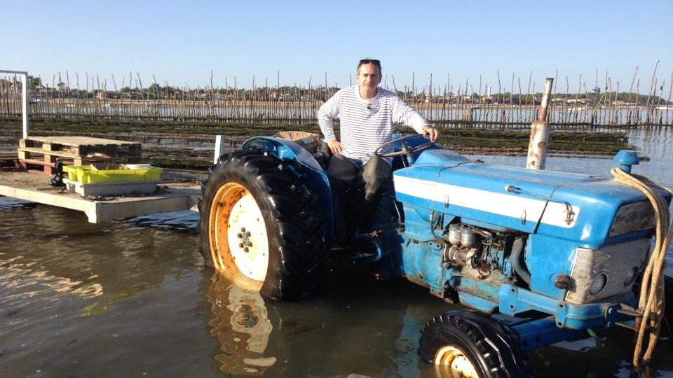 Traktory jsou tu vyjímečné, k ústřicím se pluje většinou na loďkách