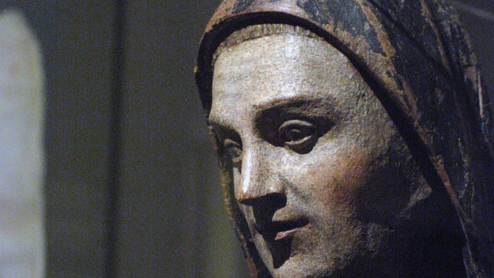 Z výstavy otevři zahradu rajskou. Benediktini v srdci Evropy 800- 1300 ve Valdštejnské jízdárně v Praze.