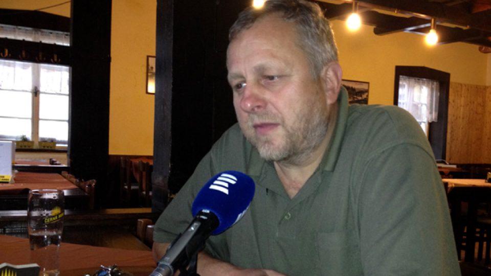 Ludvík Zifčák odpovídal na otázky Petra Dudka
