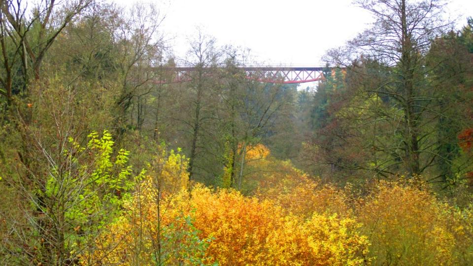 Podzim v údolí Klabavy