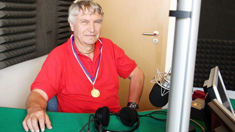 Jaroslav Sedlák během rozhovoru pro Český rozhlas České Budějovice