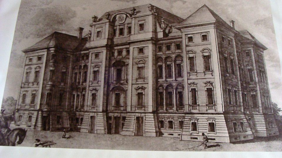 Původní podoba Nového zámku