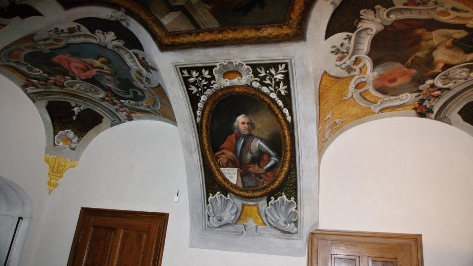 Petr ze Šternberka který rozšířil klášter