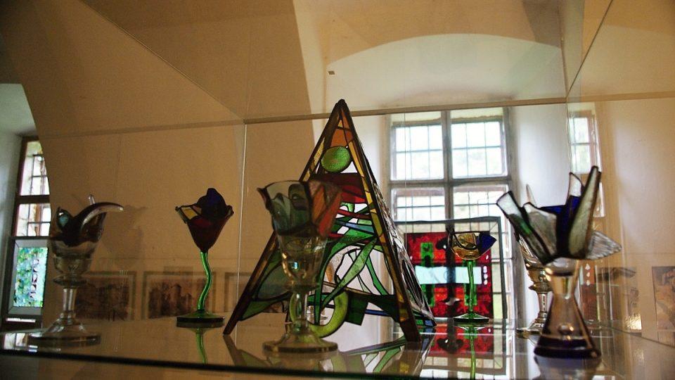 Propojení starých budov s moderním uměním se zde daří