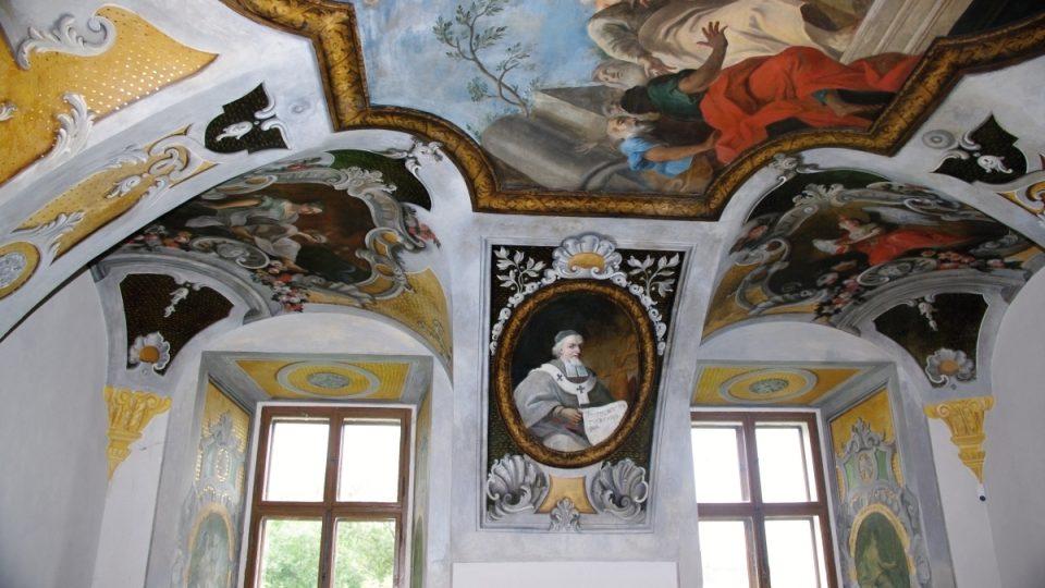Zakladatel kláštera Albert II. ze Šternberka
