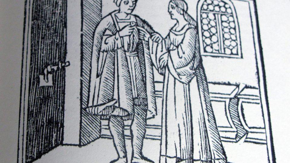 Tajný sňatek ve středověku nebyl sňatkem utajovaným v pravém slova smyslu. Jde pouze o vyjádření, že ho muž a žena uzavřeli zcela beze svědků.
