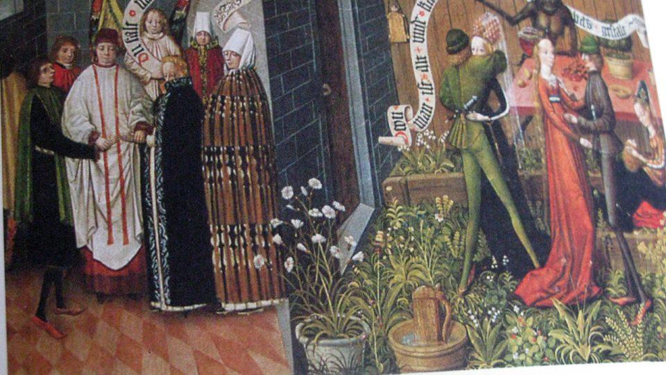 Manželství a smilstvo v knize Slavnosti, ceremonie a rituály v pozdním středověku