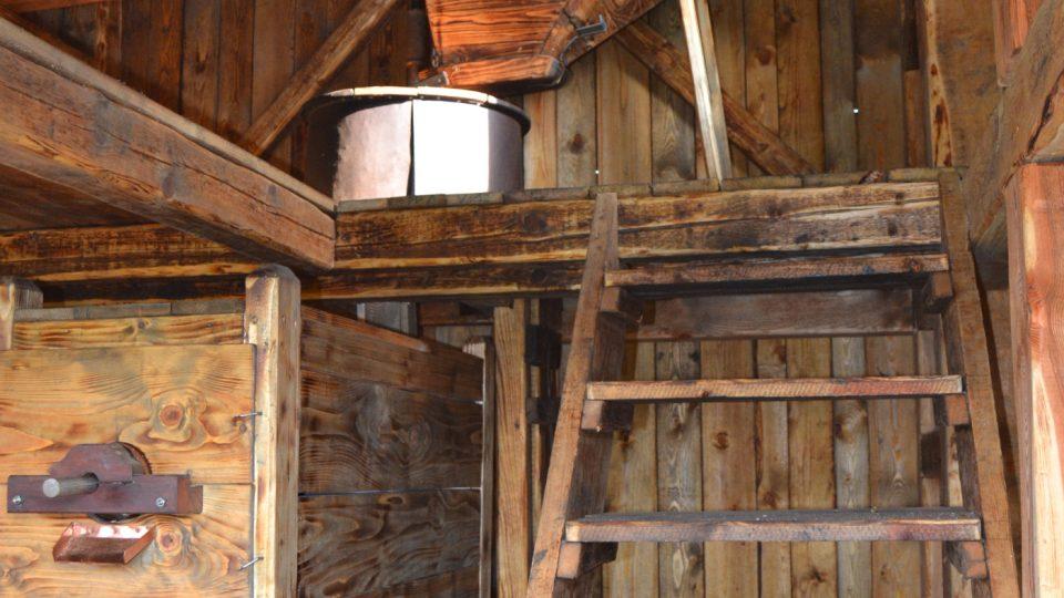 Zařízení větrného mlýnku v Řepištích