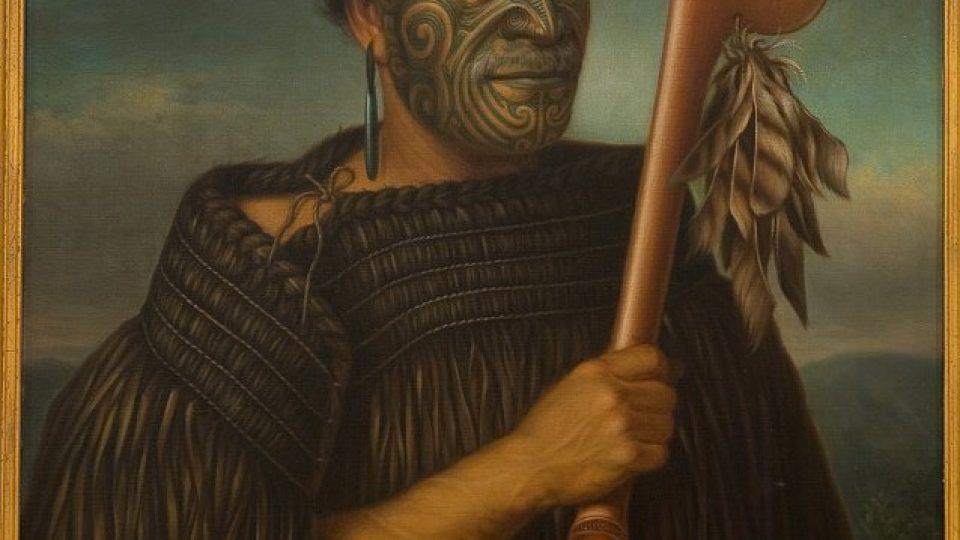 Obraz Gottfrieda Lindauera: Tamati Waka Nene