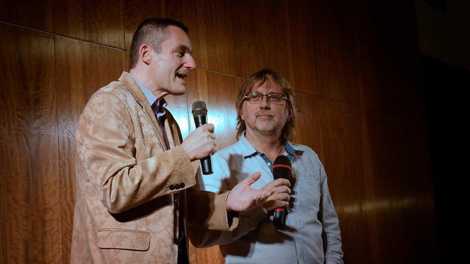 Silvestr 2014 s Českým rozhlasem Hradec Králové - Vladimír Hron a Dalibor Janda