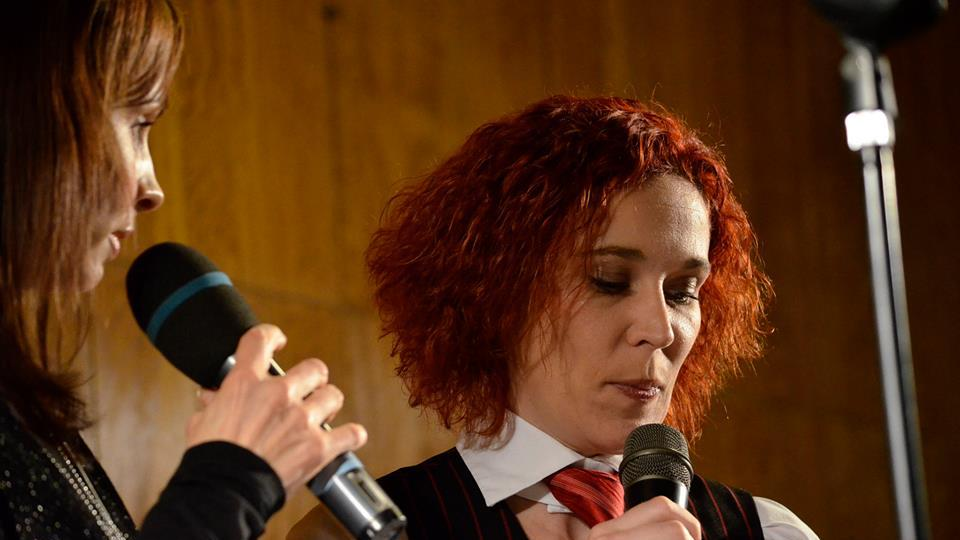 Silvestr 2014 s Českým rozhlasem Hradec Králové - Petra Beránková a Lucie Peterková