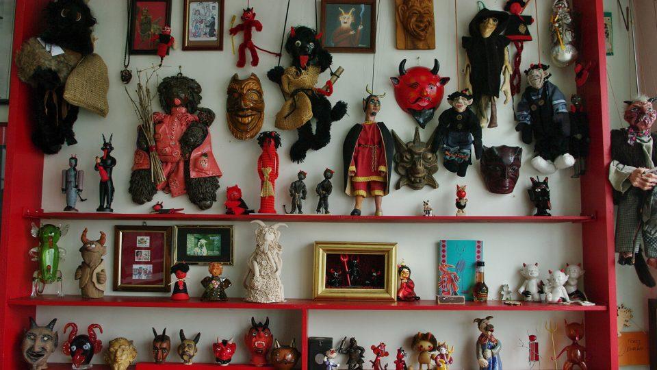 Sbírka čertů Pavla Rapušáka z Bruntálu