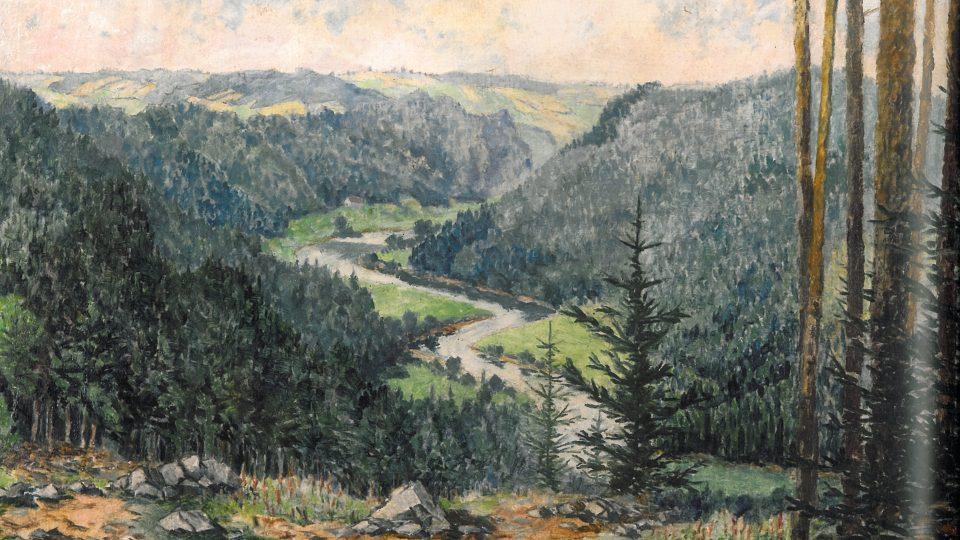 Z knihy Kleť a Blanský les – Obraz krajiny, krajina v obrazech