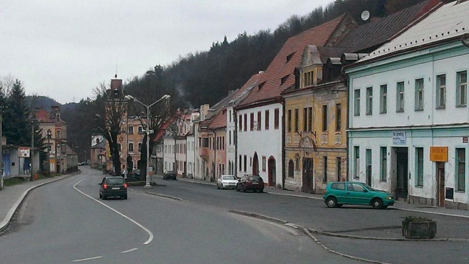 Centrum Horního Slavkova