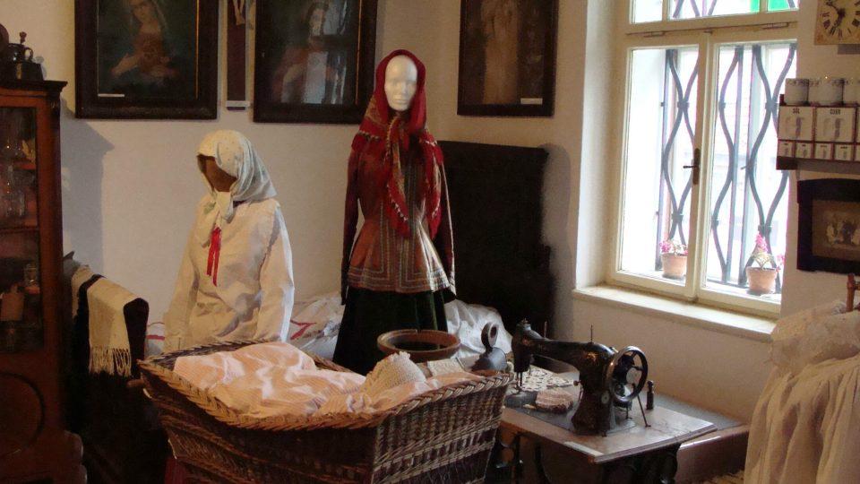 Expozice Muzea vesnice v Dolním Újezdu