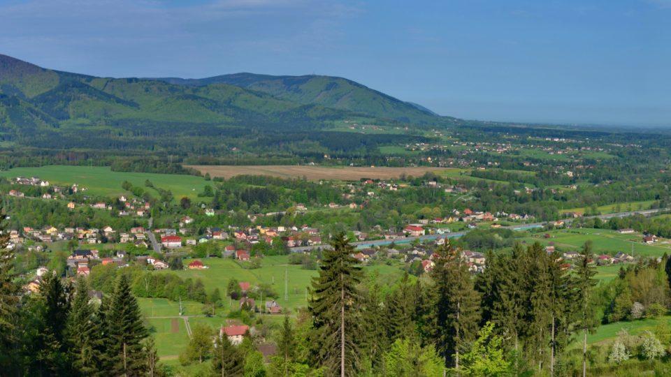 Pohled do krajiny Hrádku