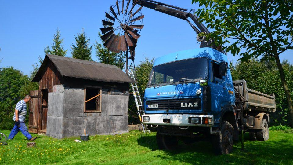 Větřok před rekonstrukcí