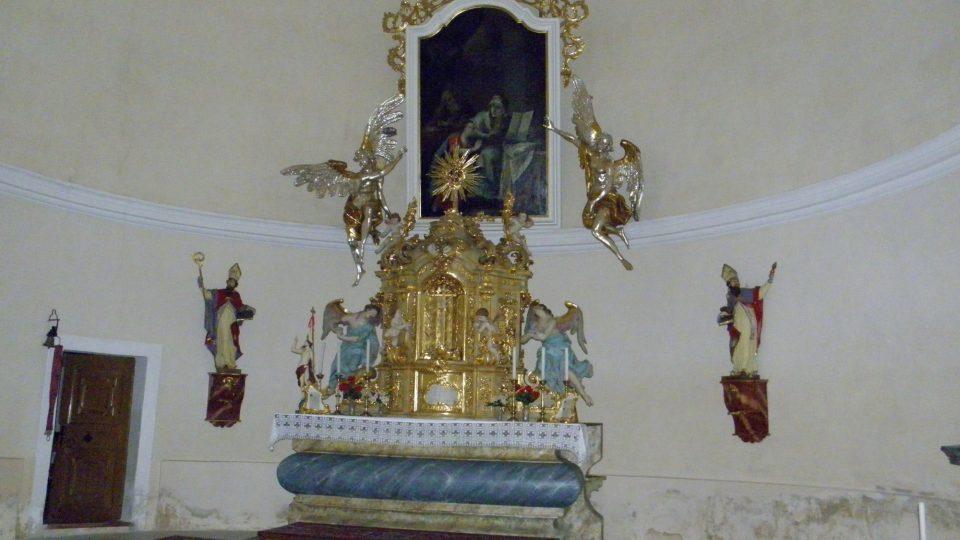 Oltář z kláštera Hradisko