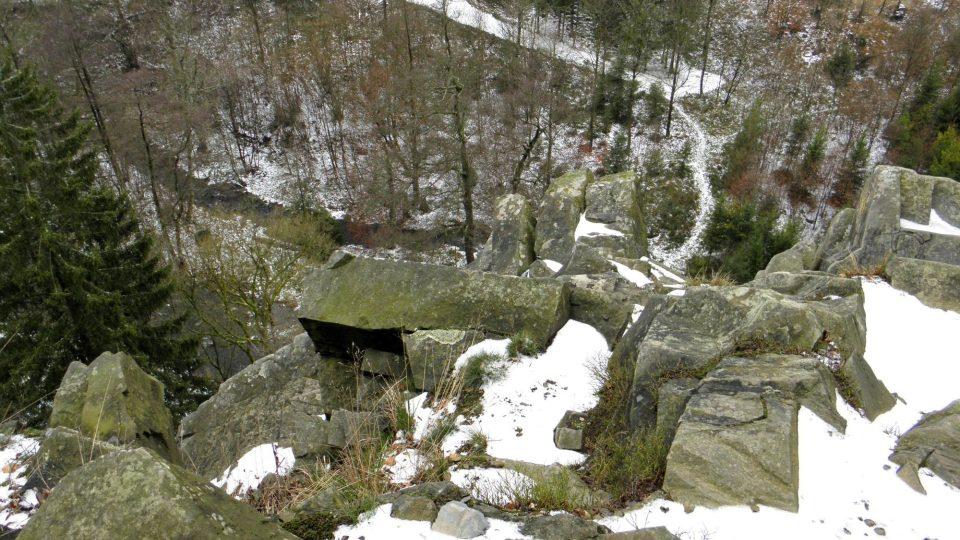 Pohled z Malého Rabštýna