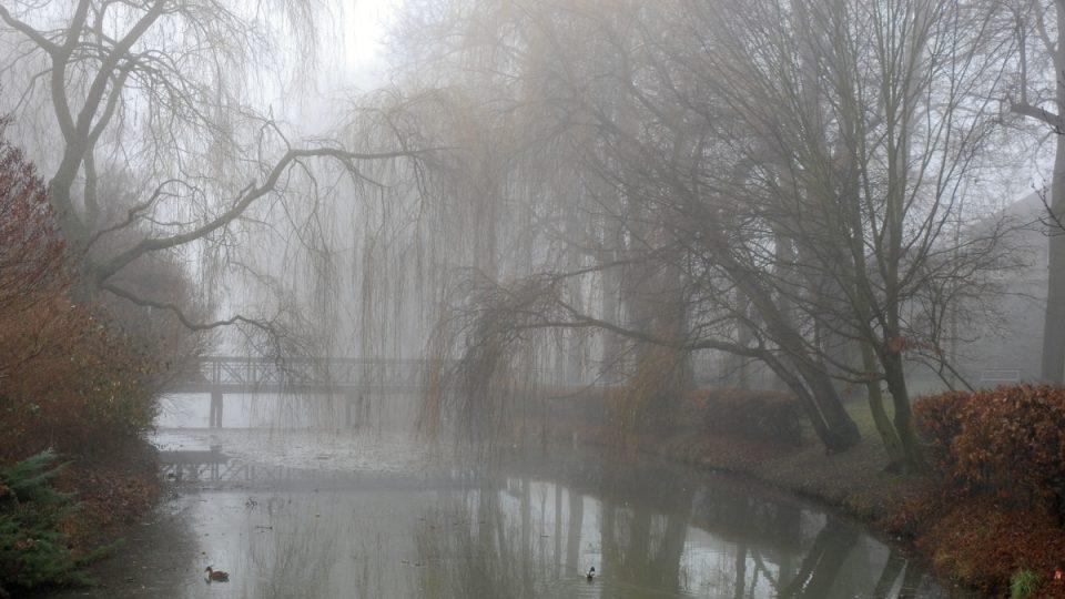 Podzimní kouzlo u rybníka
