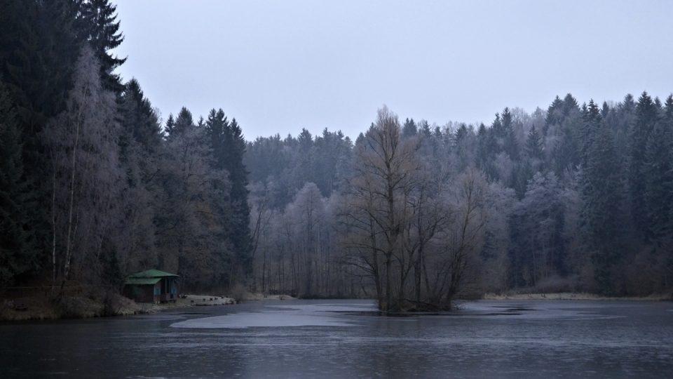 Zamrzající jezero