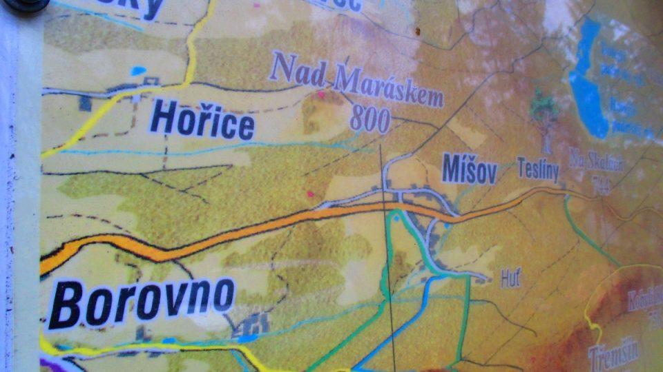 Míšov, Číčov, Borovno