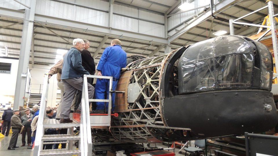 Stroj, který si hýčkají v Cosfordu, plnil roli cvičného letounu