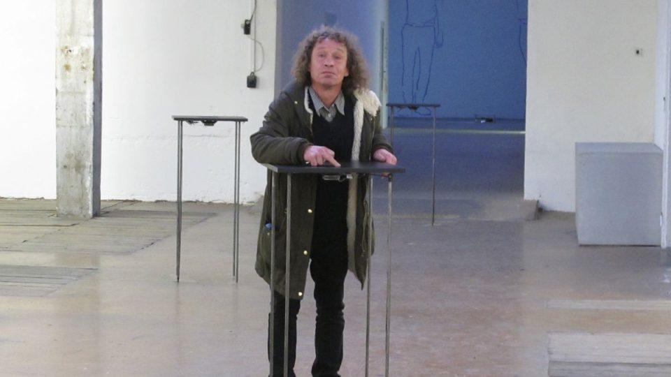 Honza Badalec v galerii Karlin Studios