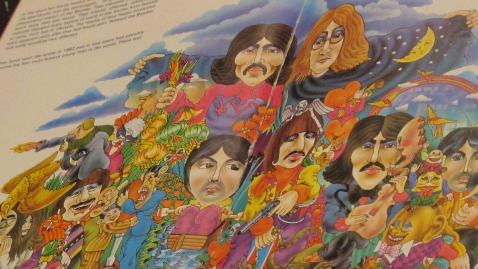 Z knížky o Beatles budou krásné diáře