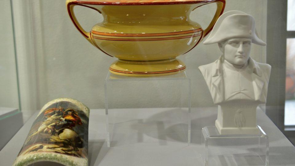 Empírová noční váza vyrobená pro Napoleona
