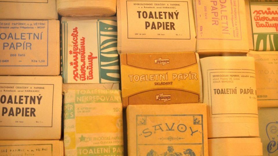 Historické toaletní papíry