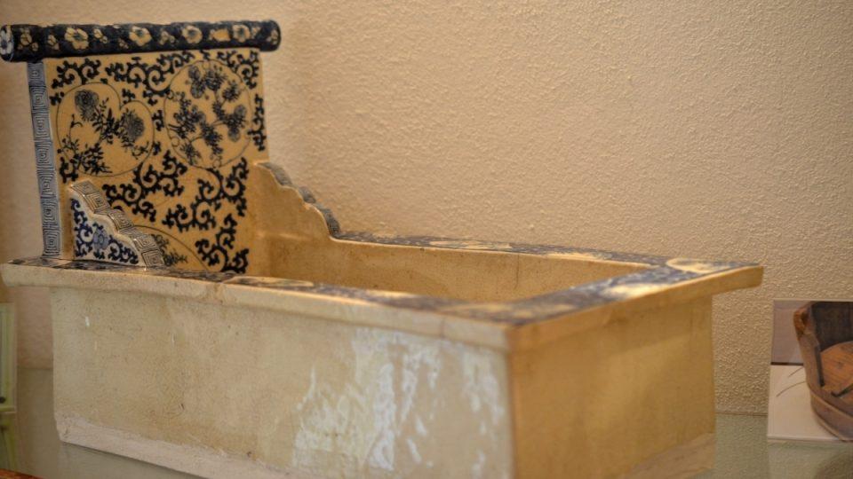 Japonská toaleta washiki, 17. - 19. století