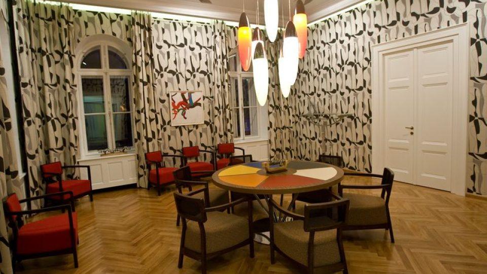 Salónek v bruselském stylu - současnost