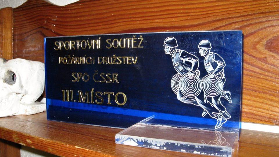 Jedna z našich dřívějších trofejí