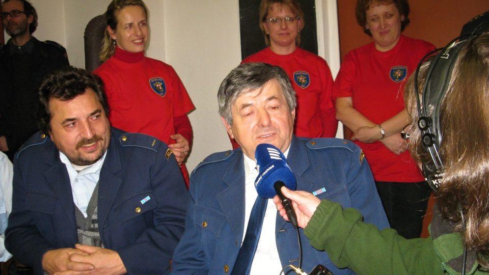 Josef Krameš, jeden ze služebně nejstarších členů