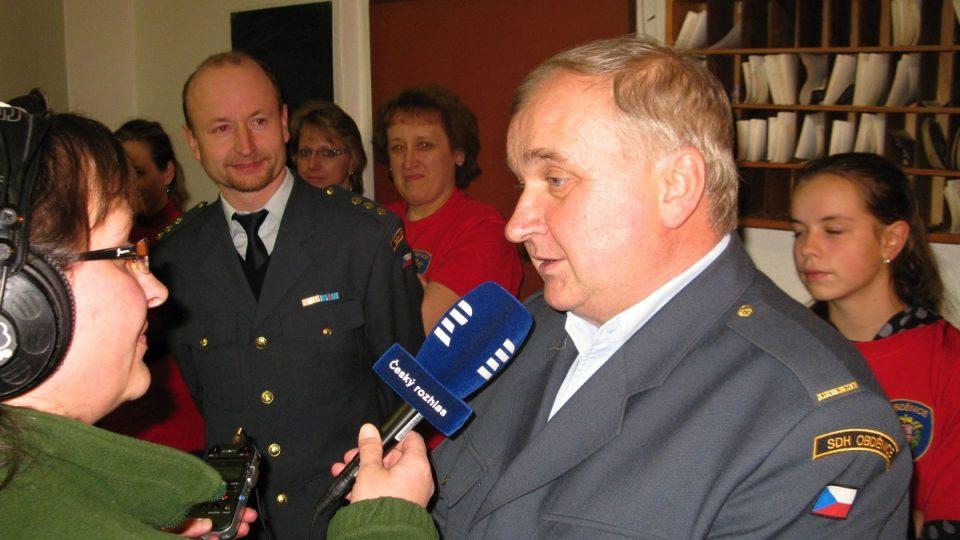 Vladimír Krejča, starosta SDH
