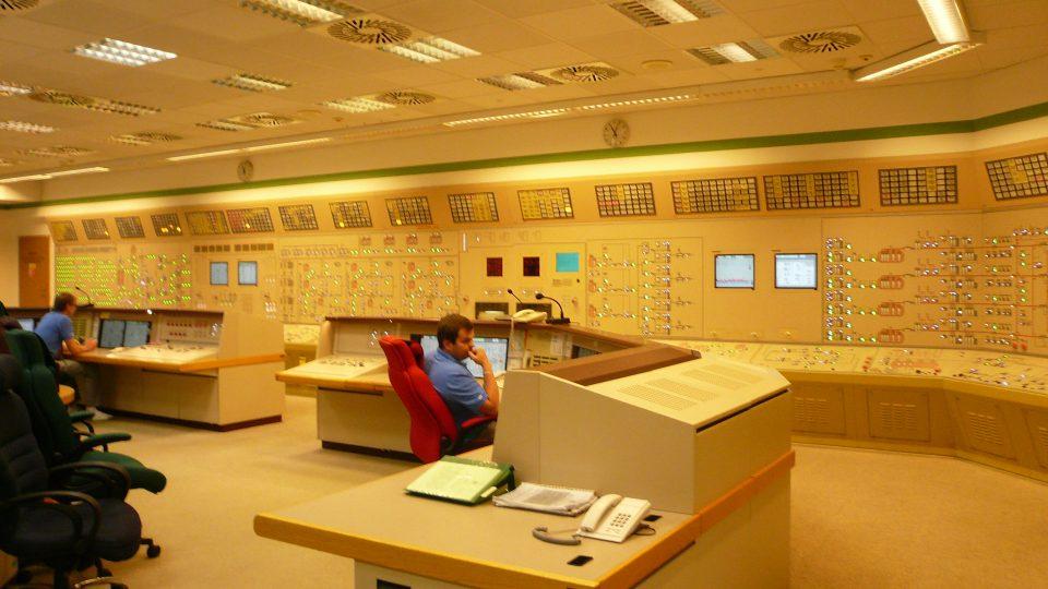 Velín reaktoru 1. bloku