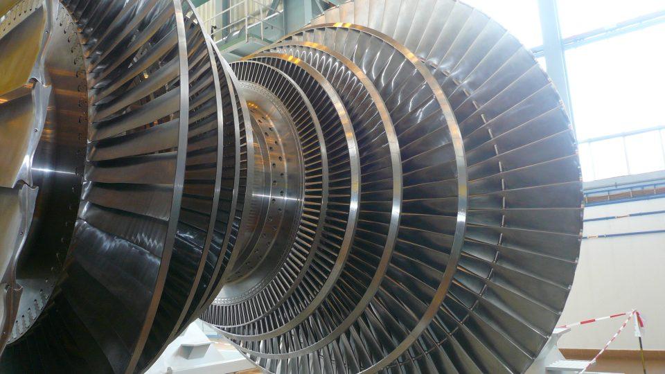 Nová turbína instalovaná v roce 2014