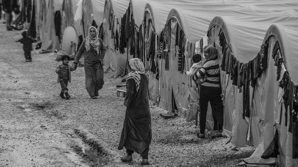 Syrský uprchlický tábor Arin Mirxan v tureckém městě Suruç