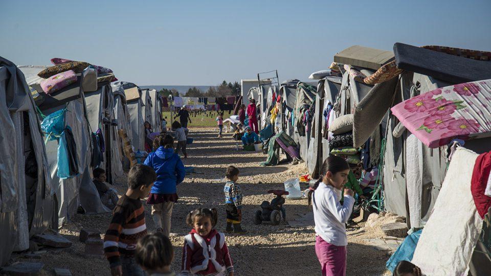 Uprchlický tabor Rojava