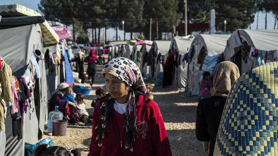 Uprchlický tábor Rojava